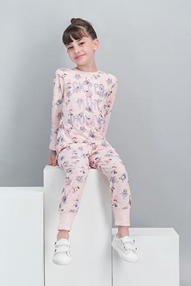 Roly Poly Rolypoly  Kremmelanj Kız Çocuk Pijama Takımı Pembe